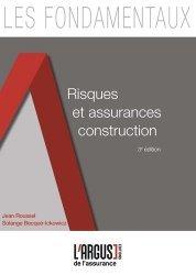 Dernières parutions dans Les fondamentaux de l'assurance, Risques et assurances construction. 3e édition