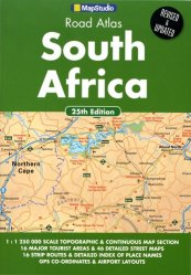 Dernières parutions sur Atlas routiers monde, Road Atlas South Africa. 1/1 250 000, 25th edition