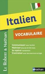 Dernières parutions dans Le Robert et Nathan, Italien vocabulaire