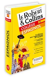 Dernières parutions sur Dictionnaires, Le Robert & Collins collège espagnol