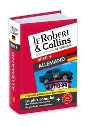Dernières parutions dans Dictionnaire mini, Le Robert & Collins mini+ allemand
