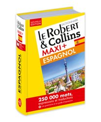 Dernières parutions sur Dictionnaires, Robert & collins maxi+ espagnolcarte telechargement