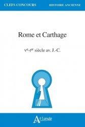 Dernières parutions sur Selections hors arbo, Rome et Carthage, Ve-Ier s. av. J.-C.