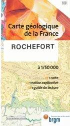 Dernières parutions dans Carte géologique de la France à 1/50 000, Rochefort