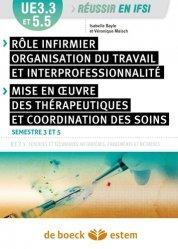 Dernières parutions dans Réussir en IFSI, Rôles infirmiers, organisation du travail et interprofessionnalité