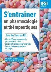 Dernières parutions sur Paramédical, S'entrainer en pharmacologie et thérapeutiques UE 2.11