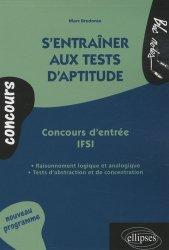 Souvent acheté avec IFSI  - Ortho     Les tests d'aptitude au raisonnement logique, le S'entraîner aux tests d'aptitude  Concours d'entrée IFSI