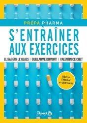 Dernières parutions sur Pharmacie, S'entrainer aux exercices