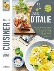Dernières parutions dans Cuisiner !, Saveurs d'Italie. Plus de 80 recettes pas à pas