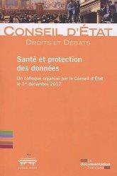 Dernières parutions sur Autres ouvrages de droit public, Santé et protection des données