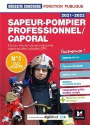 Dernières parutions dans Réussite concours, Sapeur-pompier professionnel/caporal