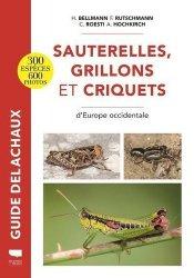 Dernières parutions sur Entomologie, Sauterelles, grillons et criquets d'Europe occidentale