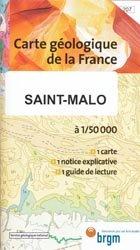 Dernières parutions dans Carte géologique de la France à 1/50 000, Saint-Malo