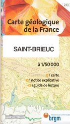 Dernières parutions dans Carte géologique de la France à 1/50 000, Saint-Brieuc