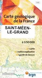 Dernières parutions dans Carte géologique de la France à 1/50 000, Saint-Méen-le-Grand