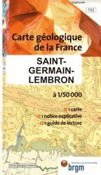 Dernières parutions dans Carte géologique de la France, Saint-Germain-Lembron