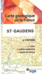 Dernières parutions dans Carte géologique de la France à 1/50 000, Saint-Gaudens