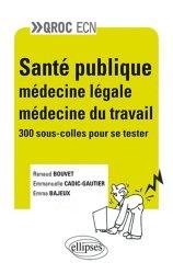 Souvent acheté avec Toute la cardiologie en 1000 QROC, le Santé publique - Médecine légale - Médecine du travail
