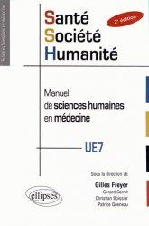 Dernières parutions dans Sciences humaines en médecine, Santé Société Humanité