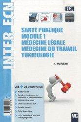 Dernières parutions sur Pharmacologie - Toxicologie ECN / iECN, Santé publique - Module1 - Médecine légale - Médecine du travail - Toxicologie