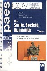 Souvent acheté avec Psychologie - Sociologie & Droit  UE7, le Santé, Société, Humanité Tome 1  UE7