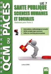 Souvent acheté avec Histologie UE2 (Paris 5), le Santé publique - Sciences humaines et sociales  (Paris 5) Santé, Société, Humanité,