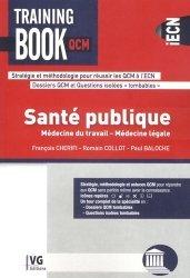 Dernières parutions dans Training book QCM, Santé publique