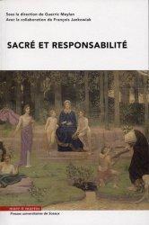 Dernières parutions sur Autres ouvrages de philosophie du droit, Sacré et responsabilité