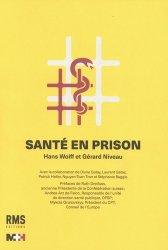Dernières parutions sur Santé publique - Politiques de santé, Santé en Prison
