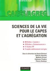 Souvent acheté avec Biologie, le Sciences de la vie pour le Capes et l'Agrégation