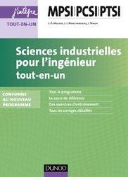 Souvent acheté avec Maths PCSI, le Sciences industrielles pour l'ingénieur  MPSI-PCSI-PTSI