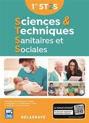 Dernières parutions sur Bac ST2S, Sciences et techniques sanitaires et sociales 1re ST2S (2017) - Manuel élève