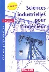 Souvent acheté avec Physique MPSI - PTSI 1ère année, le Sciences industrielles pour l'ingénieur 1ère année