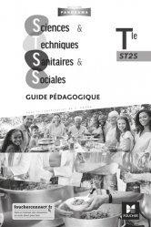 Dernières parutions sur Bac Pro ASSP - ST2S - PSE, Sciences et techniques sanitaires et sociales Tle ST2S Panorama - Guide pédagogique