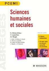 Souvent acheté avec Biochimie, le Sciences humaines et sociales