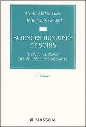 Dernières parutions sur UE 1.1 Psychologie, sociologie, anthropologie, Sciences humaines et soins.
