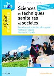 Dernières parutions sur Bac ST2S, Sciences et techniques sanitaires et sociales - 1ere ST2S
