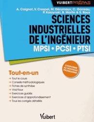 Souvent acheté avec Physique 1ère année PCSI, le Sciences industrielles de l'ingénieur MPSI PCSI PTSI