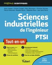 Dernières parutions sur Sciences industrielles, Sciences industrielles de l'ingénieur PTSI