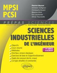 Dernières parutions sur 1ère année, Sciences industrielles pour l'ingénieur MPSI-PCSI