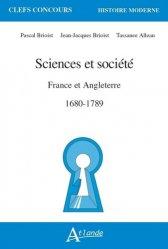 Dernières parutions sur Selections hors arbo, Sciences et société en France et en Angleterre, 1680-1789