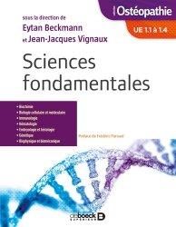 Dernières parutions sur Ostéopathie, Sciences fondamentales UE1.1 a 1.4