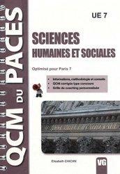 Souvent acheté avec Biologie Cellulaire ( Paris 7), le Sciences - Humaines et sociales UE7  ( Paris 7) Santé, Société, Humanité,