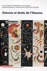 Dernières parutions dans Presses Universitaires de Sceaux, Sciences et droits de l'Homme