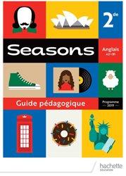 Dernières parutions sur 2de, Seasons 2nde - Livre du professeur