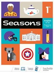 Dernières parutions sur 1re, Seasons 1ère - Livre Élève 2019