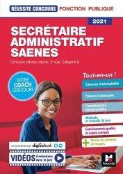 Dernières parutions sur Concours administratifs, Secrétaire administratif SAENES