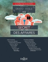Dernières parutions dans Dalloz Grand angle, Secret des affaires. Le meilleur des revues Dalloz, Edition 2019
