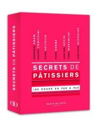 Nouvelle édition Secrets de patissiers