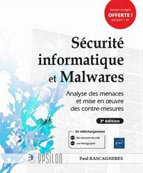 Dernières parutions dans Epsilon, Sécurité informatique et Malwares - Analyse des menaces et mise en oeuvre des contre-mesures (3e édition)